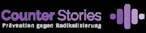 Logo von Counter Stories - Prävention gegen Radikalisierung