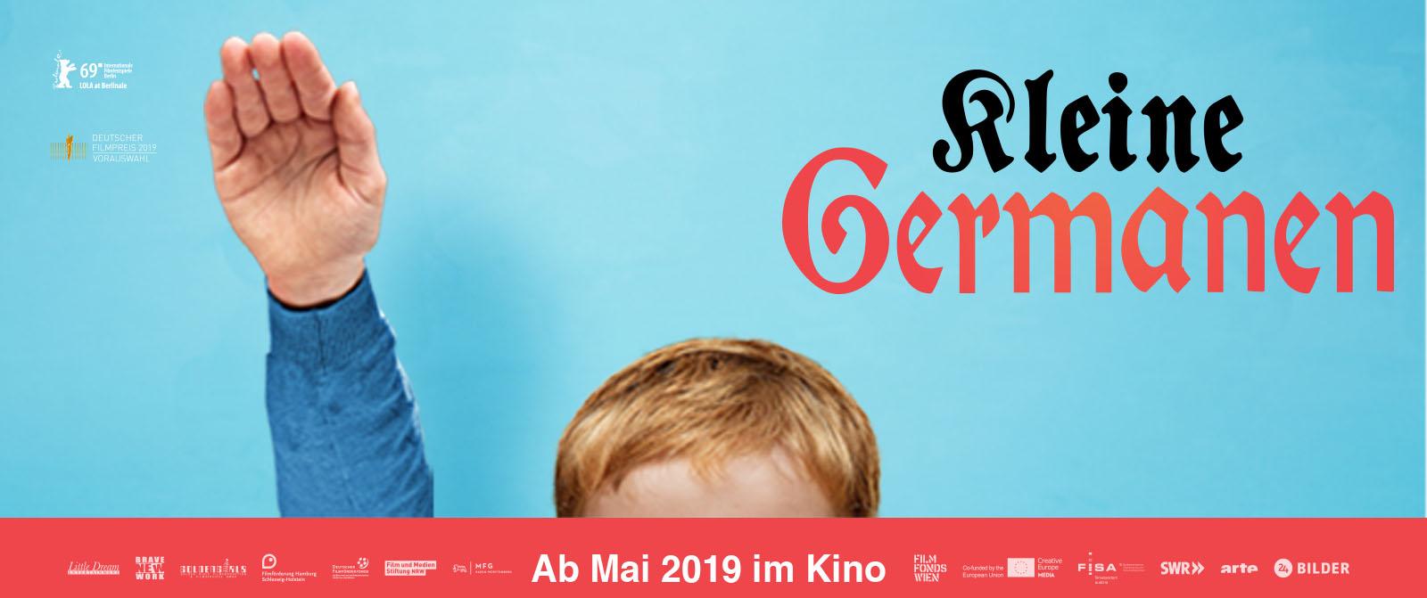 Filmposter Kleine Germanen