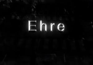 Ehre (Schriftzug)