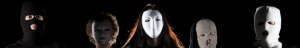 Auf dem Foto sind Mädchen und Frauen mit weissen Masken zu sehen. Das Bild ist ein Banner der Nisa Kampagne